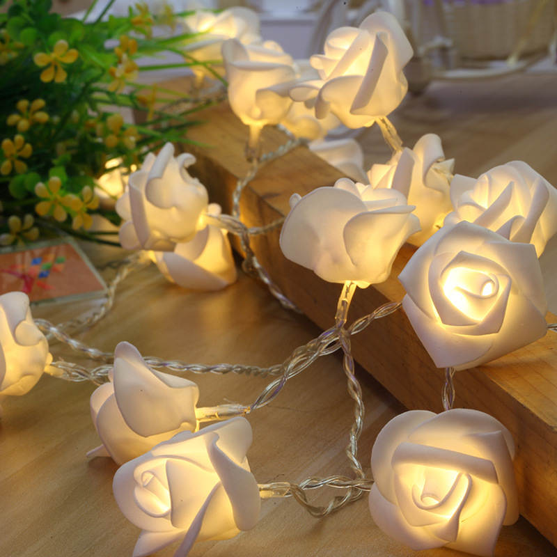 Rose string light with battery box
